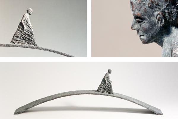 Bronzefiguren von Annette Anette Zappe - Künstlerin , Bildhauerin aus Kempten im Allgäu